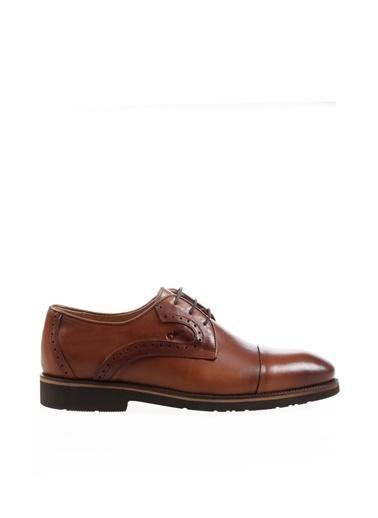 Dr.Flexer Dr.Flexer 712602 Comfort Topuk Boyu Yaklaşık 2,5 Cm Ki Deri Erkek Ayakkabı Taba